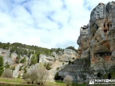 Integral Cañón Río Lobos; senderismo entre semana madrid; viajes agosto; excursiones organizadas;